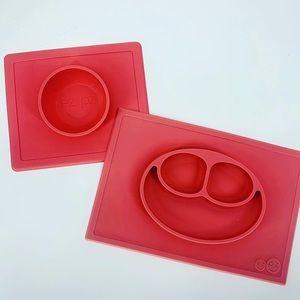 EZPZ Happy Mat Placemat & Happy Bowl